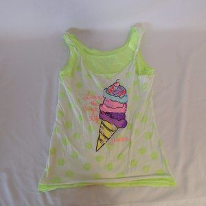 Justice girls Top size 8